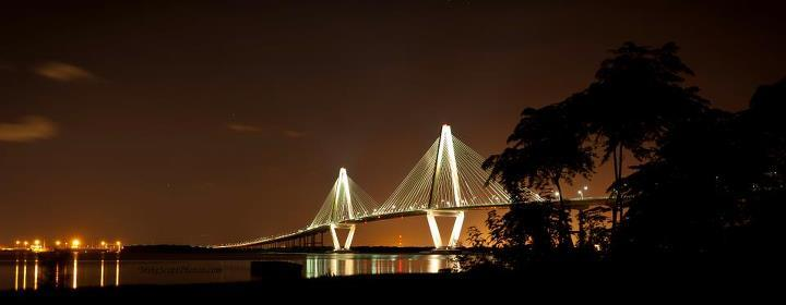 Aurthur Ravenal Jr. Bridge in Charleston, SC