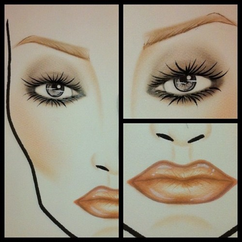 Heavenly Creature collection face chart 🎨 #maccosmetics #makeupartist #makeup #art #design #artist #lifeofanartist #facechart #instagood #iphonesia #ilovemaciggirls  (Taken with Instagram)
