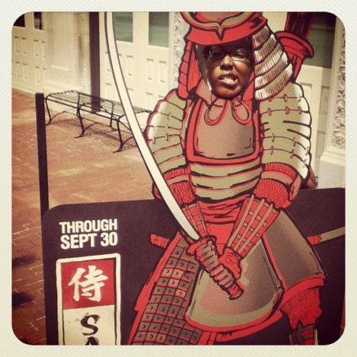 @jenchan2012 is a samurai!  (Taken with Instagram at Frazier History Museum)