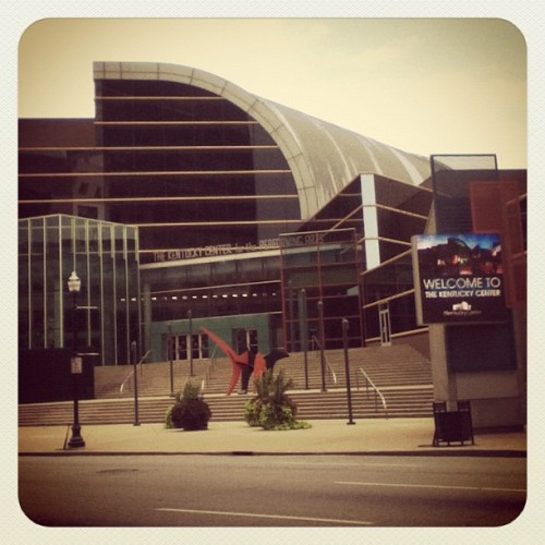 the Kentucky Center of the Performing Arts (Taken with Instagram at Downtown Louisville)