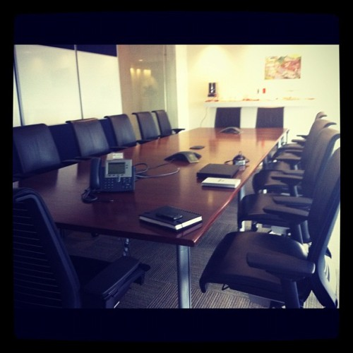 THE table #office (Tomada con Instagram)
