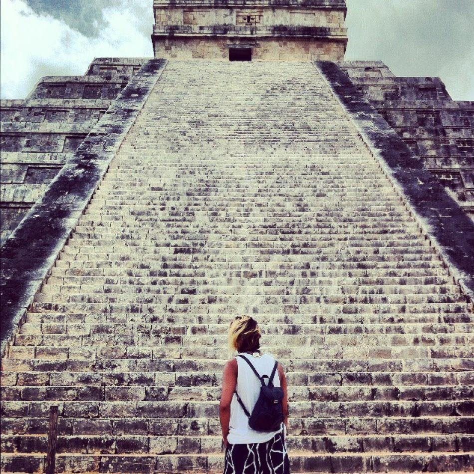 Mexico July 8th, humbled to witness this Kukulkan Pyramid in Chichen Itza, truly made my 2012.