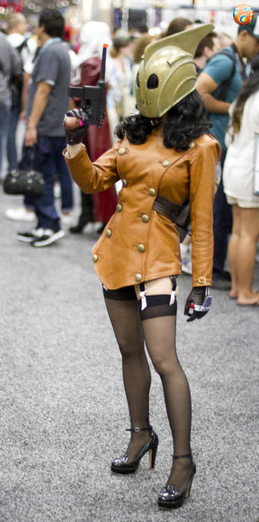 Comic Con 2012: Rocketeer Girl