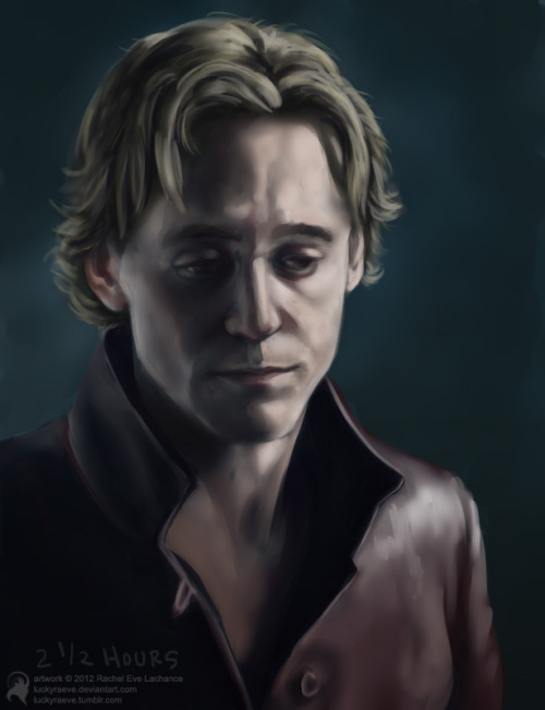 'Prince Hal (speedy #1)'It was time to make more speed paintings! And as you can probably tell, I recently watched The Hollow Crown (Henry IV parts 1 & 2). :)I try to keep my time (per painting) around 2 hours but I went a bit longer on this because it was my first time painting a speedy using Paint Tool Sai.More speedies. :D