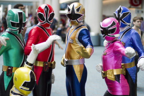 Comic Con 2012: Power Ranger