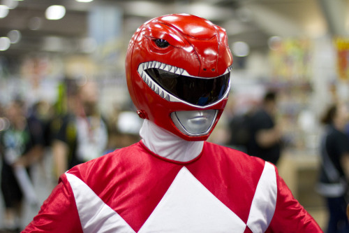 Comic Con 2012: Power Ranger Red