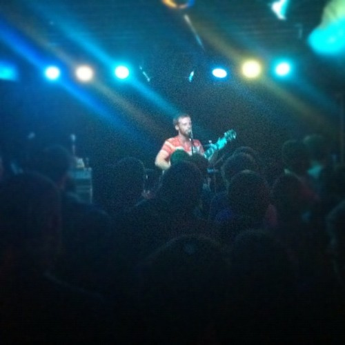 Kevin Devine acoustic set. (Taken with Instagram)