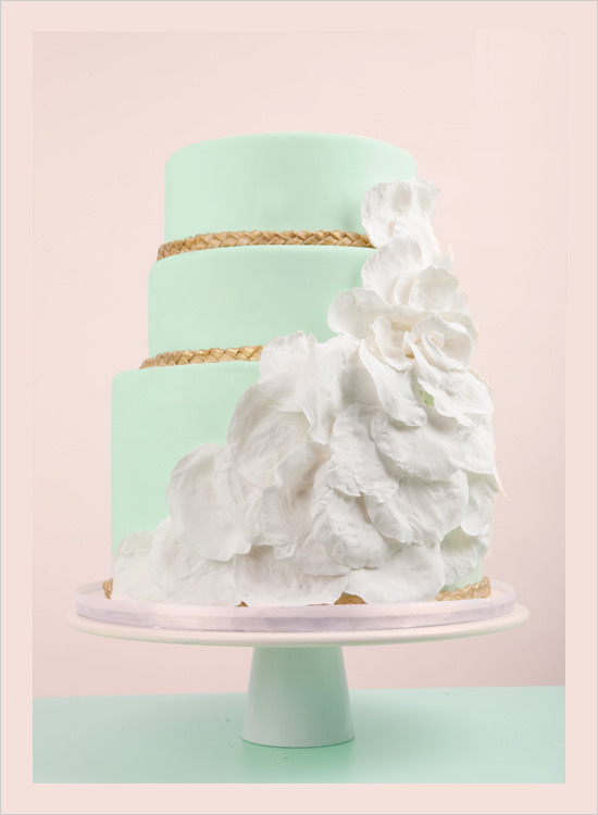 Beautiful Mint cake!♥♥♥♥