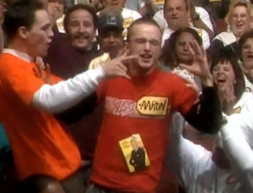 Young Aaron Paul on The Price Is Right. Video here, click. BITCH. … FOLLOW HYPERVOCAL ON TUMBLR. WE'VE GOT THE GOOD SHIT. BITCH.