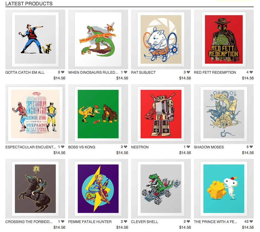 New products on sale on my Society 6 Profile, you can get a poster, art canvas or even better a Laptop/iPad skins or iPhone/iPod cases and skins.  Just click on the image.