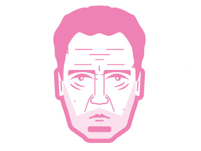 Here is a little christopher walken icon that I created for a new piece that I'm working on. I've always enjoyed all pink artwork, I hope that you feel the same :)