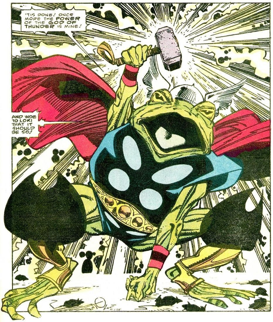 onepanel:  The Mighty Throg! Thor #365