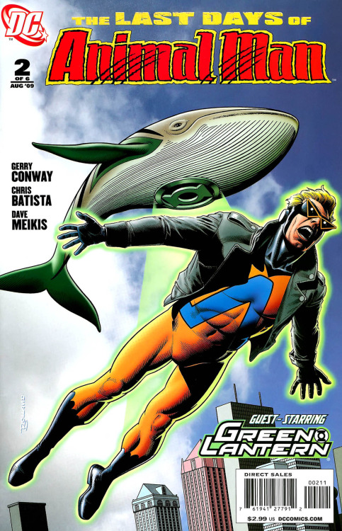 The Last Days Of Animal Man #2, August 2009, cover By Brian Bolland