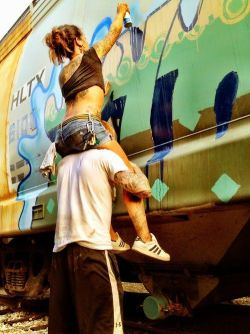 souldecryption:  That's love haha giving your girl a lift.