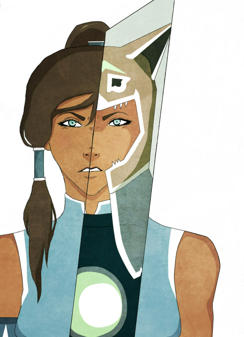 abbyfoshizay:  Mulan x Korra Colored version of this. lol I spent so much time on this… mainly because I have no life & I've never colored a sketch before