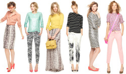 ineedsleep:  One of my favorite J. Crew Looks We Love in a long time! So gorgeous!