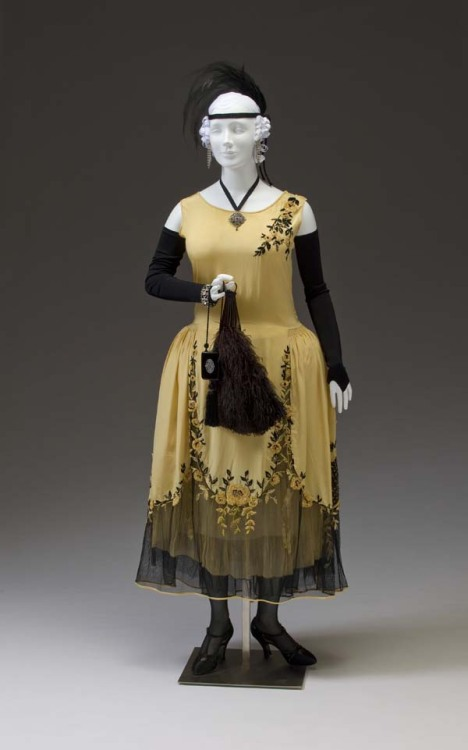 Afternoon dress ca. 1924 From the Mint Museum