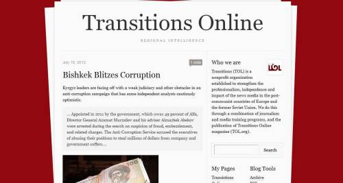Transitions Online has new-ish Tumblr.