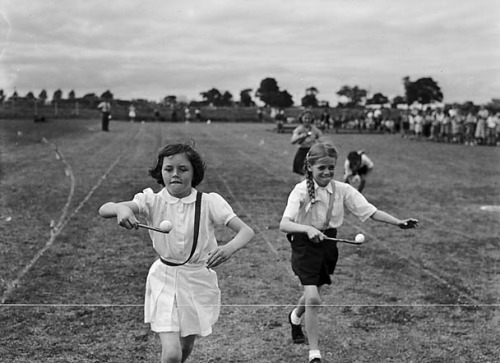 Harlescott [Junior] School Sports by LlGC ~ NLW on Flickr.Look at the photo. Consider what has has just happened here, or what is about to happen here. Who has been here? Who will come here and and what will they do? What kinds of interactions can you imagine? Write one leaf about these or other things that occur to you upon looking at the picture. Do not allow yourself to be limited by what you see. Go.| Write One Leaf + about + ask + random + facebook + twitter | sponsors + You Are a Dog [ Kindle | Google | iBookstore ]