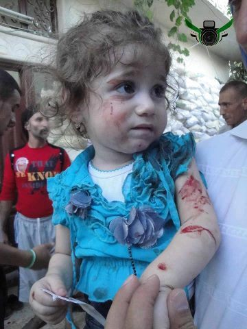 This is Jana, one of the terrorists currently under attack by the Syrian government. - Imgur