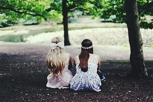 "Andromeda and Narcissa doing a ritual to compel fairies to come to them. ""I have such idiots for sisters. You two do know that Rod was messing with you when he said this actually worked?"" ""Bella, if you think this is so stupid, then why are you even here? The fairies probably aren't coming because they sense your negative thoughts."" ""It's official. You two have gone bonkers. I'm leaving."" ""It would be appreciated. Bye, bye."" Taken by Bellatrix. Circa 1976."