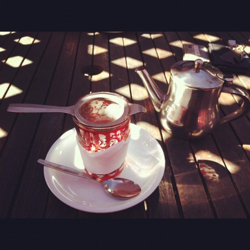 #tea in the #secret #garden (Taken with Instagram)