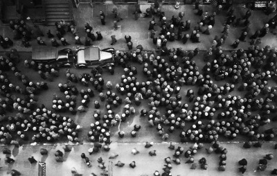 Margaret Bourke-White. 1930. m3zzaluna:  36th street, garment district, new york, 1930 photo by margaret bourke-white, from the great LIFE photographers (see also on LIFE photo archive)