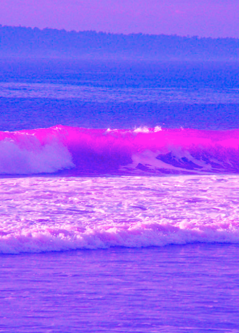 #myedit of Pink Waves