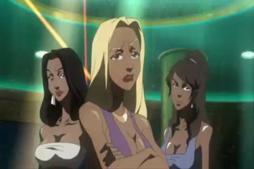 captainburstocthesailor:  so… Korra was originally in the boondocks  WHAT THE FUCK?!