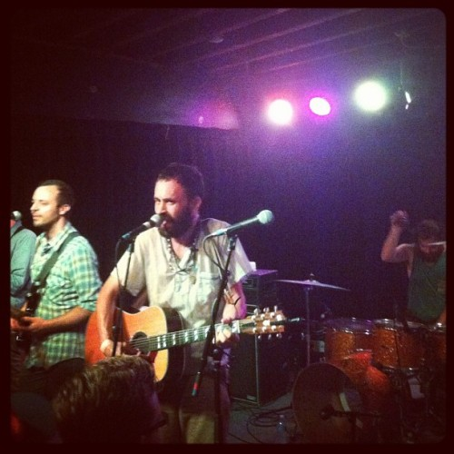 Mewithoutyou KILLED it, thank you Denver for a good night! (Taken with Instagram)