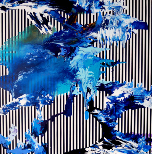 Rory McCartneyNautilus. 2010Oil, resin and lacquer on board122 x 122 cm VIA