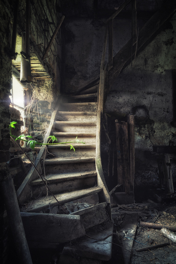 "derelictmetropolis:  (via 500px / Photo ""stairwell"" by Thorsten Schnorrbusch)"