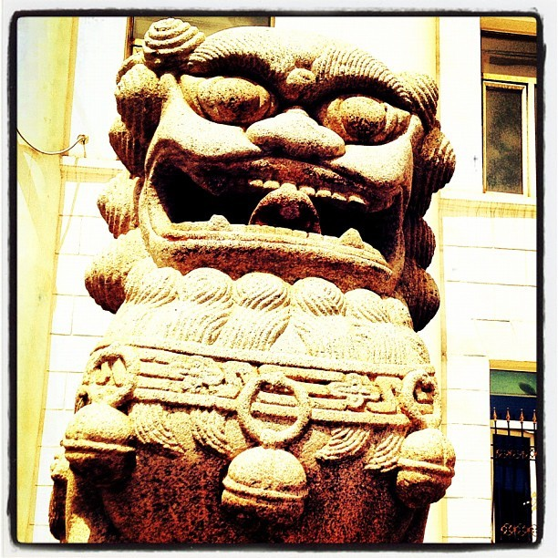#street #sculpture #ulaanbaatar #mongolia  (Taken with Instagram)