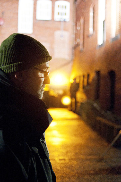 withinsomnia:  cinemastatic:  David Fincher on the set of The Social Network  #i feel like people on game of thrones #because if i ever met him #i would bow down and say my king