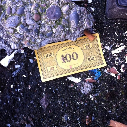 The streets of Sunderland are paved with money! (Taken with Instagram)