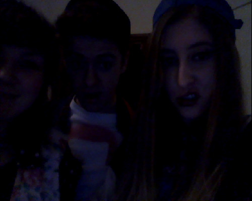 90s party! You can't even see with this shitty webcam doe.