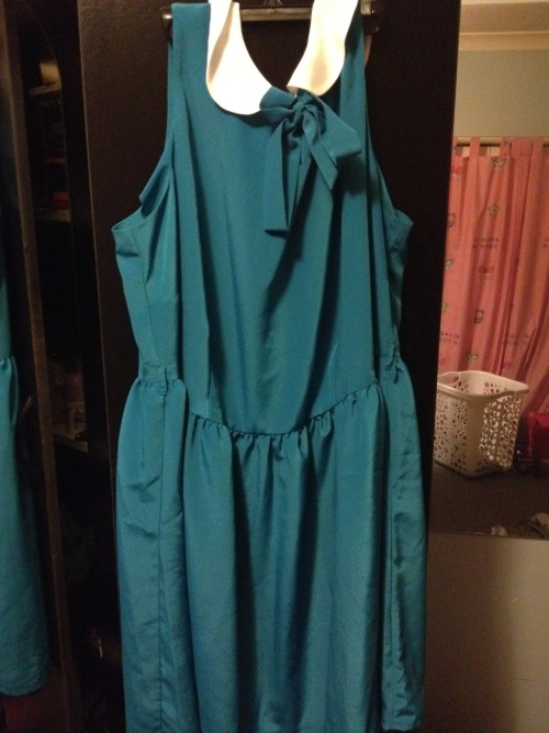 ASOS CURVE Exclusive Peter Pan Dress Teal. Quality: Never worn + tags.Size: Australian 18.Price: Bought for $52, selling for $35 + shipping.