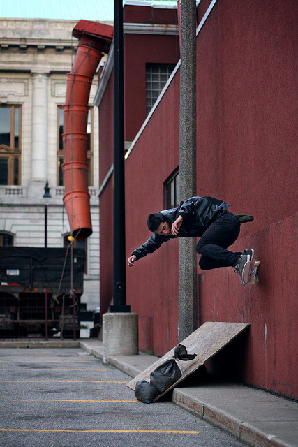 whataboutyoursoul:  Wallride. by Blake Jablonski on Flickr.