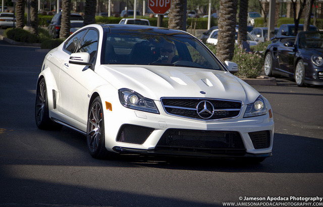 Mercedes Benz C63 AMG Black Series by Jameson Apodaca Photography on Flickr.