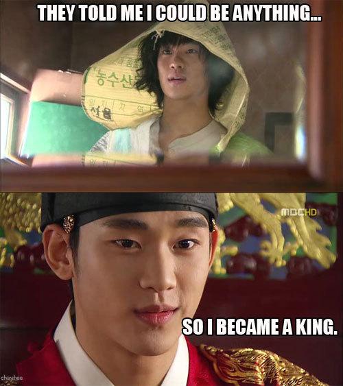 Kim Soo Hyun's epic transformation