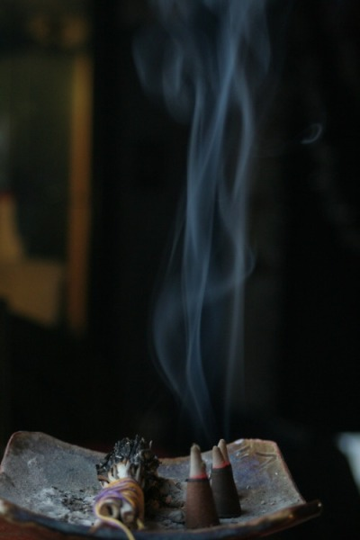 ghost-man-blues:  Incense and sage
