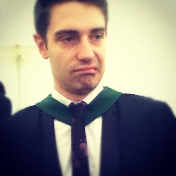 Nathan Graduate Perkins (Taken with Instagram)