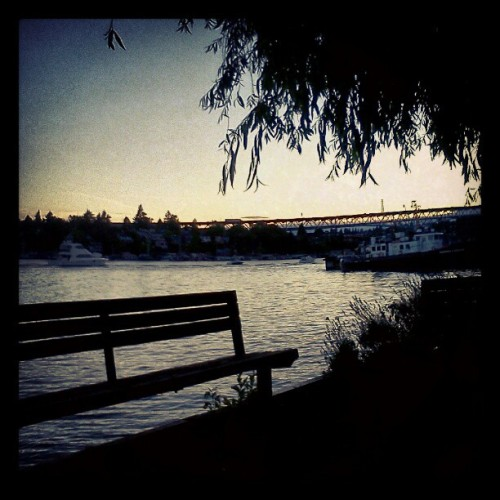By the water. :) (Taken with Instagram)