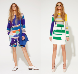 wgsn:We've only just found this amazing S/S 12 collection by Mungo Gurney. Loving the bold geometric prints, pop colours and silk fabrication, and its now in the sale at The Corner!