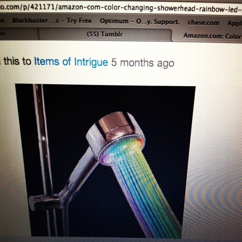 errrmmm, i want this SO BAD. #colorfulshower ;) #freakingawesome #wanelo by bethxox0 http://instagr.am/p/NTPgTWQIU6/