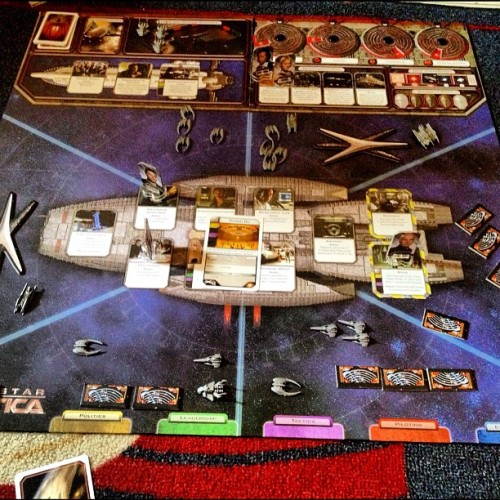 Battlestar Galactica #boardgames  (Taken with Instagram)