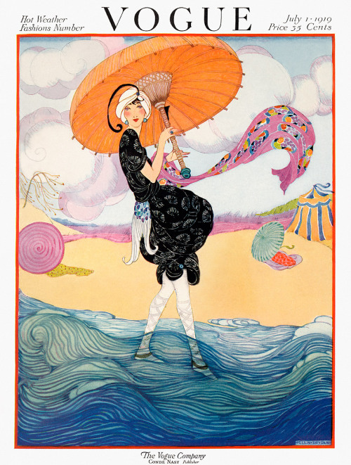 Dose of vintage: Vogue July 1, 1919 by Helen Dryden.