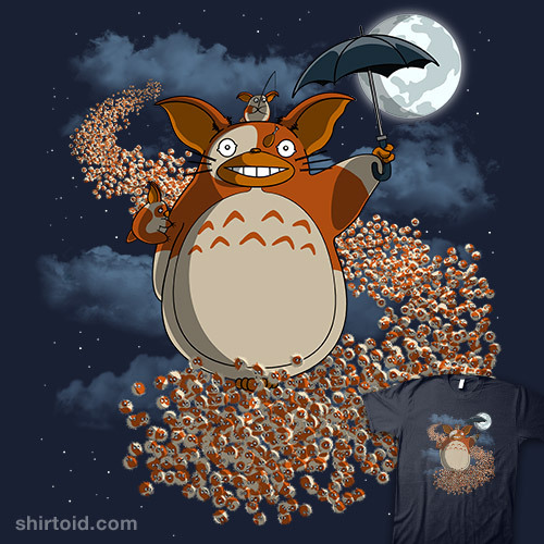 (My Mogwai Gizmoro | Shirtoid via brainscooksidea)