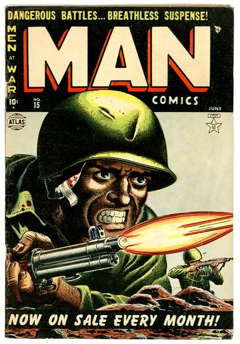 Man comics, 1952 Source: Samuels Design