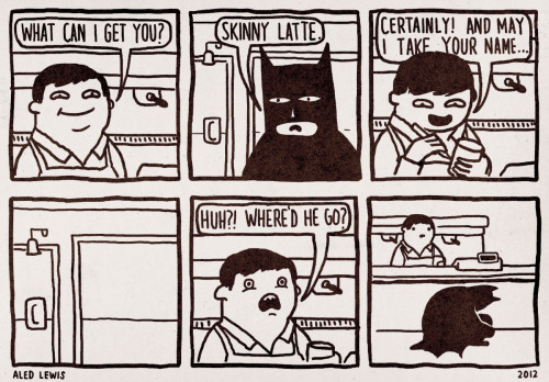 Ohhh, so THAT'S how Batman does it! aledlewis:  Disappearing Act
